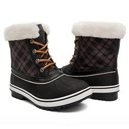 GLOBALWIN Women's 1727 Waterproof Snow Boots 8.5M