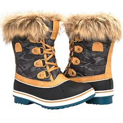 GLOBALWIN Women's 1838 Camel Winter Snow Boots 9M