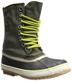 Sorel Women's 1964 Premium CVS Boot, Black/Fossil, 9 M US