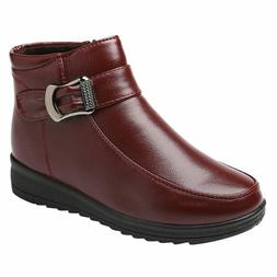 2019 Women's winter Boots Snow Boot Fashion Flat-With Shoes