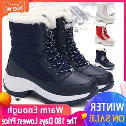 2019 Women Snow <font><b>boots</b></font> Waterproof Non-sli