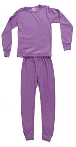 Just Love 95462-Lilac-4 Thermal Underwear Set for Girls