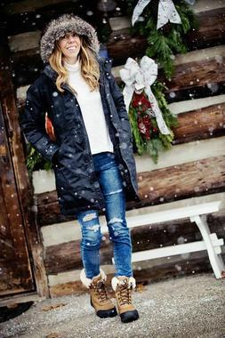 NEW Womens Chestnut Leather UGG Adirondack lll Waterproof  S