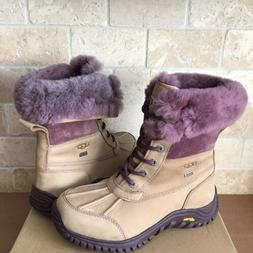 UGG Adirondack II Mushroom Waterproof Leather Snow Boots Siz