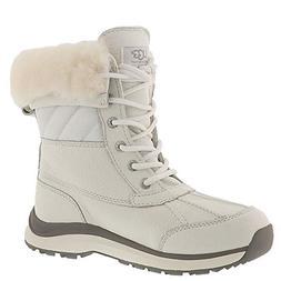 UGG Women's Adirondack Quilt Boot III White 10 B US B