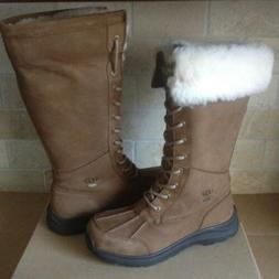 UGG Adirondack Tall III Chestnut Waterproof Leather Snow Boo