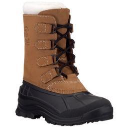 Women's Kamik Alborg Waterproof Pac Boots, Tan