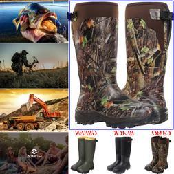HISEA Apollo Men's Hunting Boots Waterproof & Insulated Rain