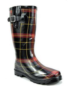 arctiv8 Womens MAD Rubber Mid Calf Knee High Rain Footwear W