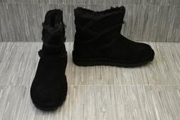 Bearpaw Ariel 2183W Snow Boots - Women's Size 8, Black - NEW