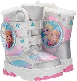 Josmo Kids Baby Girl's Frozen Snow Boots  White/Multi 10 M U