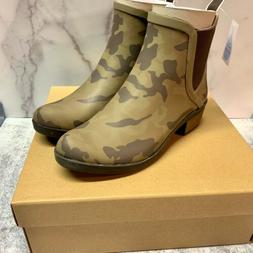 Lucky Brand Basel H20 Camoflage Pull On Rain Snow Bootie