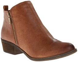 Lucky Brand Basel Women US 8 Brown Ankle Boot Blemish  18802