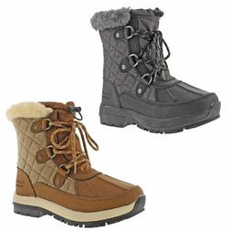 Bearpaw Bethany Women's Quilted Waterproof Duck Toe Snow Boo