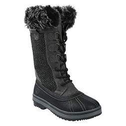Northside Women's Bishop Winter Snow Boot, Charcoal, 5 B US