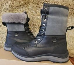 UGG BLACK ADIRONDACK III WATERPROOF SNOW WINTER BOOTS WOMEN'