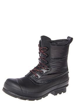 Hunter Mens Black Snow Boots Size 10 New