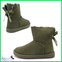 Booties women's Winter with Fur Boots Warm Ankle boots Hair