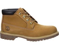 Timberland Mens Boots Premium Chukka Waterproof Wheat Suede