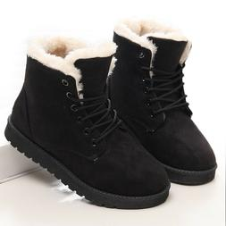 Boots Winter Warm Snow Women Short Shoes Plush For Female So