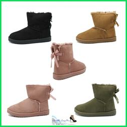 Boots women's Booties Winter with Fur Ankle Boot Hair boot S