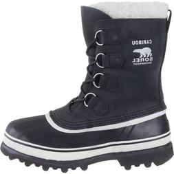 Sorel Caribou Boot - Women's Black/Stone, 8.0