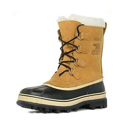 Sorel Men's Caribou NM1000 Boot,Black/Tusk,12 M
