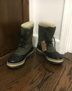 Sorel Caribou snow/winter boots - women's size 10 - green wa