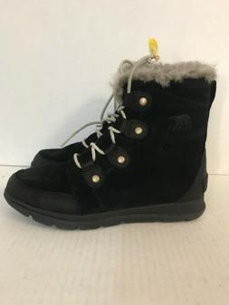 SOREL Caribou Waterproof Insulated Snow Boots Womens Size 10
