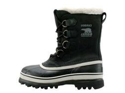 Sorel Caribou Women's Waterproof Winter Snow Boots Black siz
