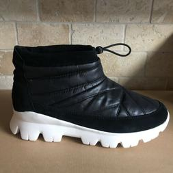 UGG CENTARA WATERPROOF BLACK QUILTED SNOW ANKLE BOOTS BOOTIE