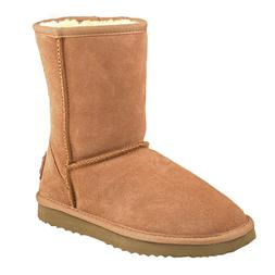 AUSLAND Classic Women Water Resistant Leather Winter Mid-Cal