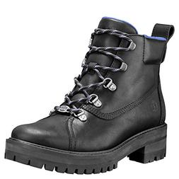 Timberland Womens Courmayeur Valley WP Hiker, Jet Black Minc