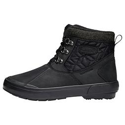Keen Elsa II Ankle Quilted WP Women's Boot 11 B US Black-Bla