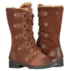 Sorel Emelie Lace Up Boots Women's Waterproof Insulated Snow