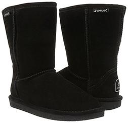 BEARPAW Women's Emma Short Snow Boot  US, Black II)