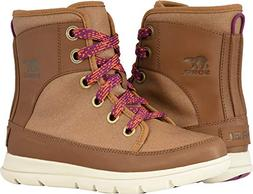 SOREL Womens Explorer 1964 Snow Boot, Camel Brown/Nutmeg, Si