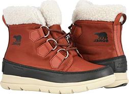 SOREL Explorer Carnival Boot - Women's Rusty/Black, 8.5