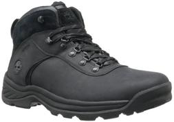 Timberland Men's Flume Waterproof Boot,Black,9.5 W US