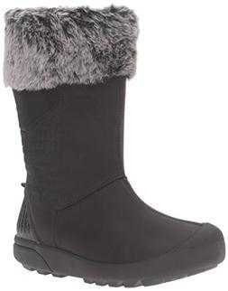 KEEN Women's Fremont Zip Waterproof Shoe, Black, 5 M US