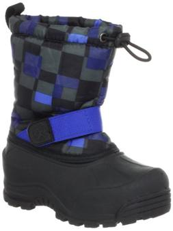 Northside Frosty Winter Boot ,Black/Royal,7 M US Toddler
