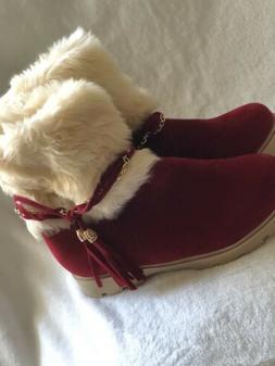 Susanny Fur Snow Boots, Women's Sz7-8, Boots, Women's Re