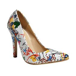 Ghazzi Women High-Heeled Shoes Wild Pointed Shallow Ladies S