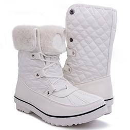 GLOBALWIN Women's 1632 Black Grey Snow Boots  US Women, 1706