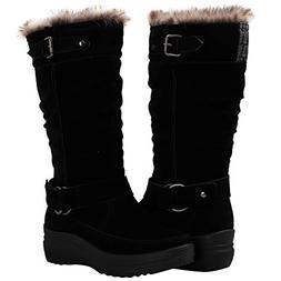 GLOBALWIN Women's 1828 Black Fashion Snow Boots 9M