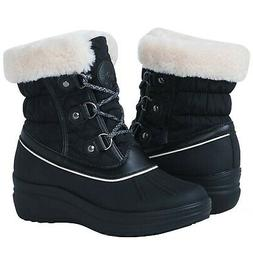 Globalwin Women's 1823 Winter Snow Boots 1823black 9 M US