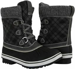 GLOBALWIN Women's 1833 Winter Snow Boots