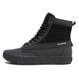 """Supra """"Graham CW"""" Shoes  Men's High-Top Leather Winter Snow"""