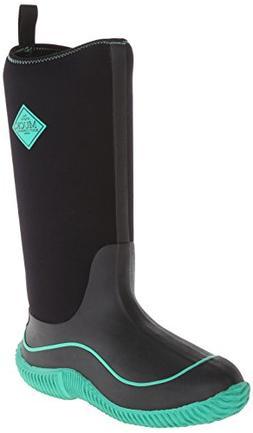 MuckBoots Women's Hale Snow Boot,Black/Jade,8 M US