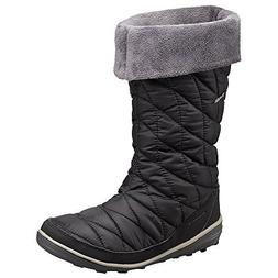 Columbia Women's Heavenly Omni-Heat Slip Black/Kettle Boot 6